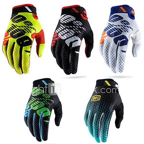 Motorcycle gloves cross country racing gloves bike riding gloves Full Finger Superfine fiber