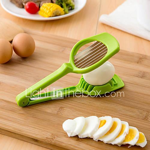 ABS Multi-function Mushroom Egg Slicer Color Random