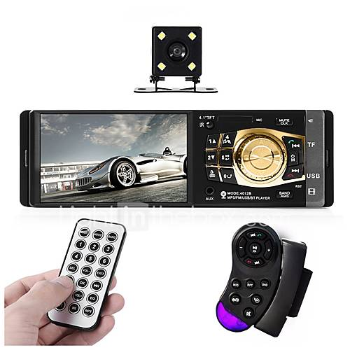 4.3 inch 2 DIN 800 x 480 Other Car DVD Player  for universal Bluetooth Built-in Bluetooth Volume Control Memory Storage Sounds Frequency