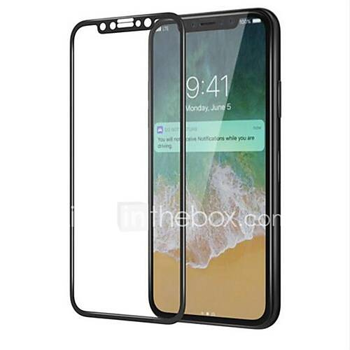 Tempered Glass Screen Protector for Apple iPhone X Front Screen Protector High Definition (HD) 9H Hardness 3D Curved edge