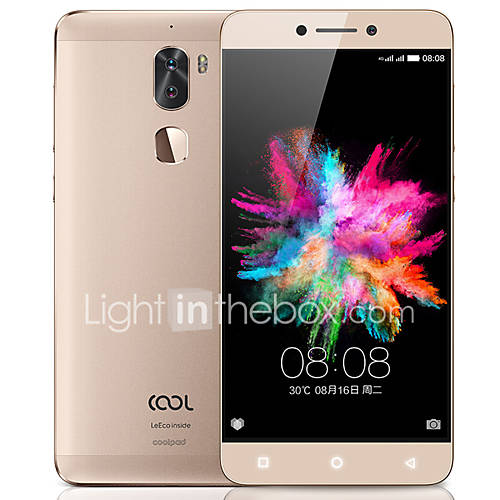 "LeTV LeEco Coolpad Cool1 5.5 "" 4G Smartphone ( 4GB 32GB 13 MP 13 MP Qualcomm Snapdragon 652 4060mAh)"