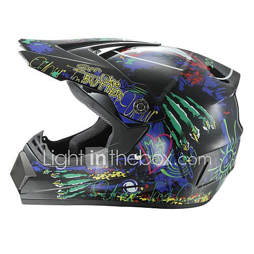 Off-Road Motorcycle Racing Helmet Wolf Dewclaw Full Face Speed Racing Durable Motorsport Helmet