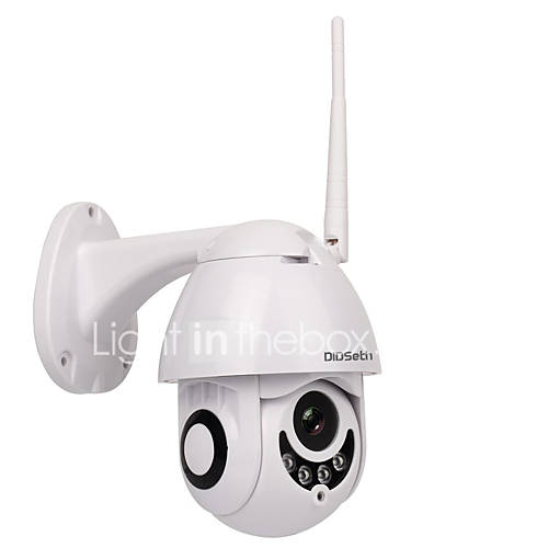 DIDSeth 1080P 2MP Outdoor WiFi PTZ Camera Dome IP Camera Wireless Security Camera Support 128 GB 3.6mm Lens Two Way Audio IP66 Waterproof Onvif Protocol Motion Detection