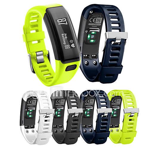 Watch Band for Vivosmart HR Garmin Sport Band Silicone Wrist Strap