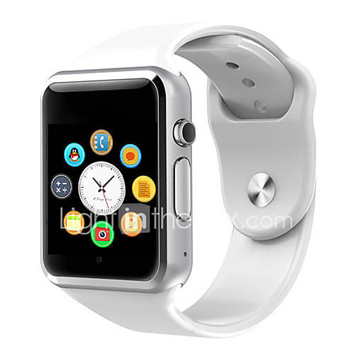 A1 Smart Watch BT Fitness Tracker Support Notify/Blood Pressure/Heart Rate Monitor Sport Bluetooth Smartwatch Compatible Iphone/Samsung/Android Phones