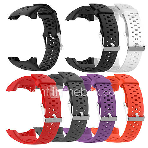 For Polar M400 M430 Smart Watches Replacement Silicone Wrist Strap Watch Band