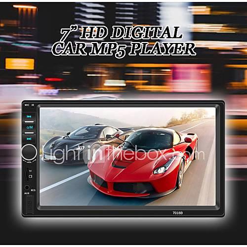 SWM 7018B 7 inch 2 DIN Car MP5 Player HD Touch Screen car Stereo Radio car audio multimedia MP3 FM USB bluetooth with Rear View Camera