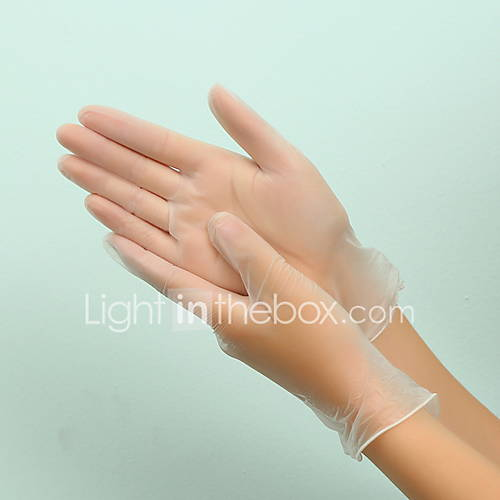 Health Protection Disposable Latex Gloves 100 pcs