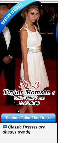 Taylor Momsen's Little White Dress
