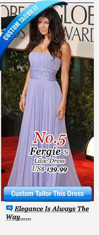 Fergie's Lilac Dress