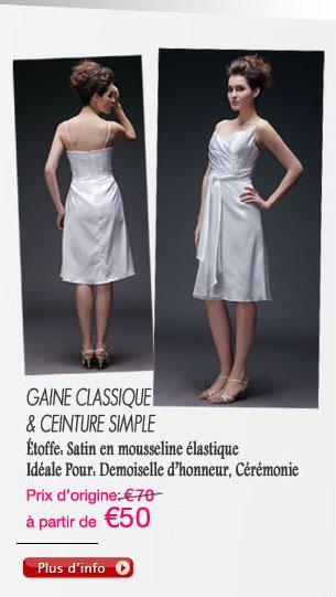 Gaine Classique & ceinture simple