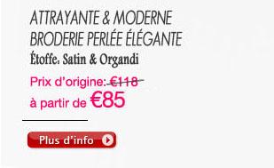 Attrayante & Moderne broderie perlée élégante