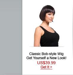 CLASSIC BOB style Wig
