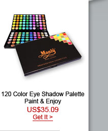 120 Color Eye Shadow Palette