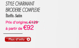 Style Charmant broderie complexe