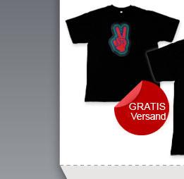 Sound und Musik Aktivierte T-Shirt