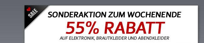 55% Rabatt AUF Elektronik, Brautkleider und Abendkleider
