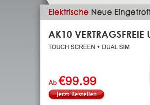 AK10 Vertragsfreie Uhr Handy