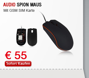 Audio Spion Maus
