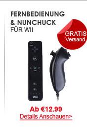 Fernbedienung & Nunchuck
