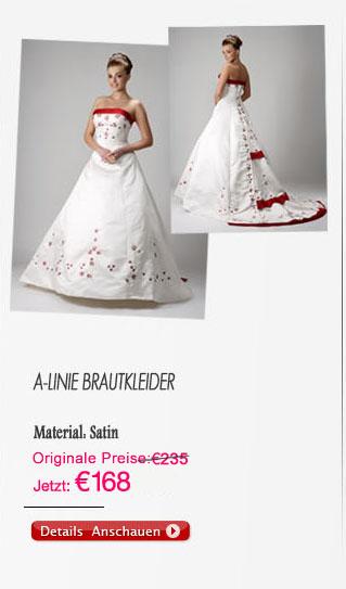 A-linie Brautkleider