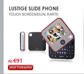 LUSTIGE Slide Phone
