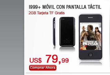 I999+ Móvil con Pantalla Táctil
