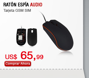 Ratón Espía Audio
