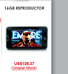 16GB Reproductor