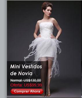 Mini Vestidos de Novia