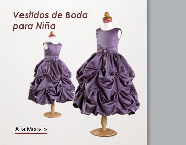 Vestidos de Boda para Niña
