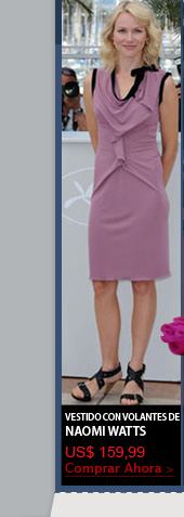 Vestido con Volantes de Naomi Watts