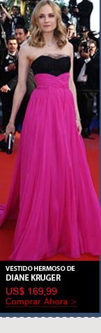 Vestido Hermoso de Diane Kruger