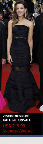 Vestido Negro de Kate Beckinsale