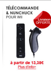 Télécommande & Nunchuck