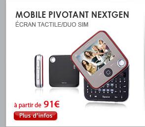 Mobile pivotant NextGEN