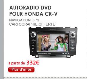 Autoradio DVD pour HONDA CR-V