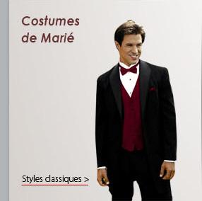 Costumes de Marié