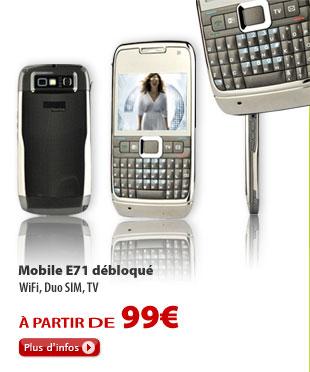 Mobile E71 débloqué