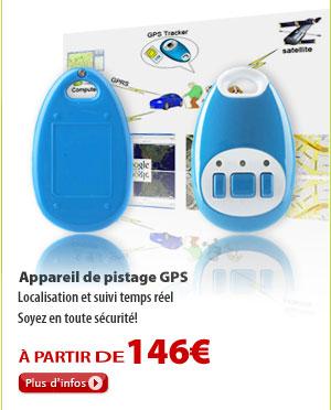 Appareil de pistage GPS