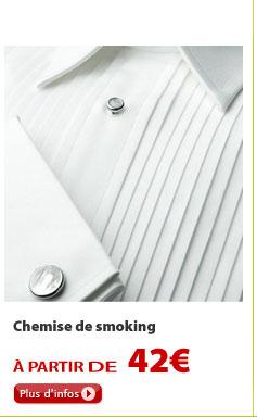 Chemise de smoking