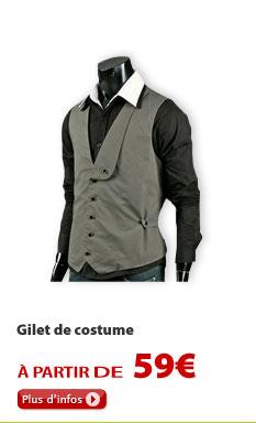 Gilet de costume