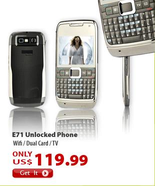 E71 Unlocked Phone