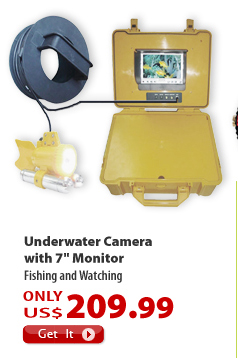 Underwater Camera with 7