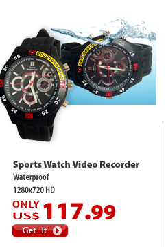 Sports Watch Video Recorder