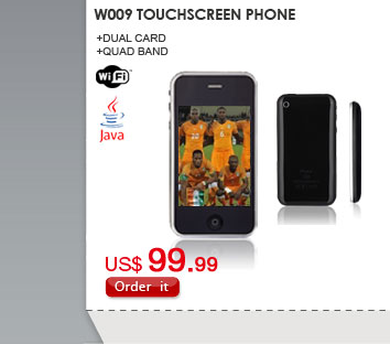 W009 Touchscreen Phone