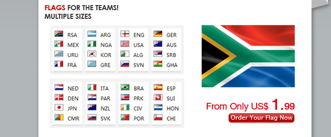 Flags for the Teams!