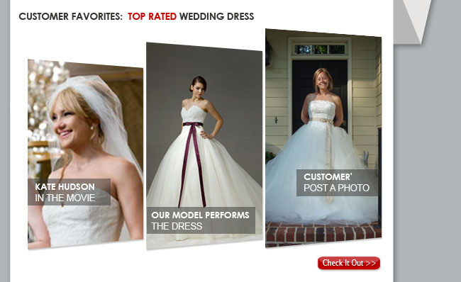 Top Rated Wedding Dress