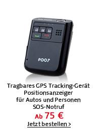 Tragbares GPS Tracking-Gerät