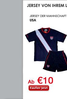 Jersey der Mannschaft USA